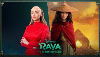 Danna Paola en Raya y el último dragón (2)